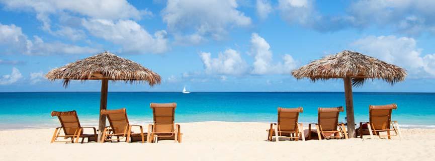 Tranquil Caribbean Beach